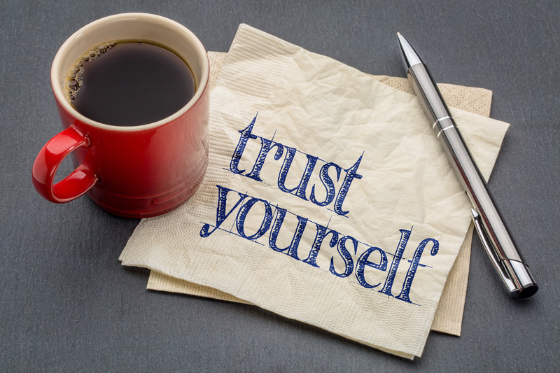 Trust Yourself by Can Stock Photo / PixelsAway